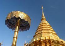 Doi Suthep goud - Chiang Mai - Thailand - foto: Lokaal agent