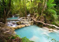 Erawan waterval - kanchanaburi - Thailand - foto: Lokaal agent