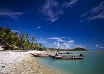 Strand met bootjes Koh Samui - Koh Samui - Thailand - foto: Lokaal agent