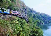 Trein River Kwai - River Kwai - Thailand