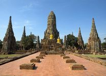 thailand ayutthaya wat chai wattanaram - ayutthaya - Thailand - foto: Lokaal agent