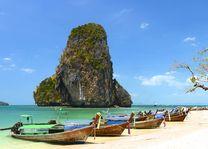Krabi, Kho Poda, raila y - Thailand