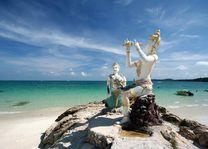 Sai Kaew, Buddhistische zeemeerminnen, Mu Koh Samet - Thailand - foto: Archief