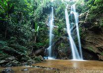 Mork fah waterval, Dio Suthep Pui national park, Chaingmai - Thailand