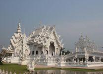 Witte tempel, Chiang Rai - Thailand