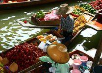 Floating market 3, Bangkok - Thailand