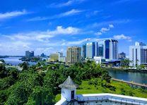 Uitzicht over de stad - Kuching - Sarawak - Maleisië - foto: unsplash