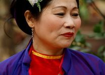 vrouw opgemaakt - Vietnam