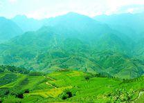 bergen en rijstvelden Sapa - Sapa - Vietnam - foto: Victoria Sapa Resort