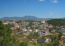 uitzicht op Dalat - Dalat - Vietnam