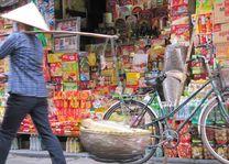 Straatbeeld van Hanoi - Hanoi - Vietnam