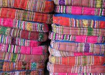 kleurige kussens in Noord-Vietnam - Noord-Vietnam - Vietnam