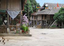Homestay in Mai Chau vallei - Homestay Mai Chau - Vietnam - foto: Mieke Arendsen