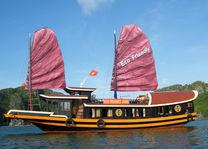 Boot: 'Eco Friendly Junk' - Lan Ha Bay - Cat Ba Island - Vietnam - foto: Agent