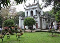 tempel van Literatuur in Hanoi - Hanoi - Vietnam