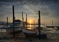Vissersboten - Kuantan - Maleisië - foto: flickr