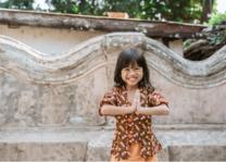 Wai begroeting van Thais kindje - copyright: Canva