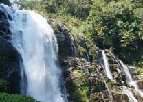 waterval in Doi Inthanon National Park - Thailand - foto: flickr