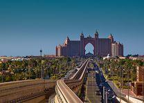 weg naar Atlantis The Palm - Dubai - foto: pixabay