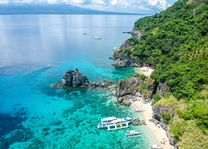 zee - strand - Apo Island - Filipijnen