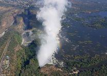 boven Victoria Falls - Victoria Falls - Zimbabwe - foto: rechtenvrij