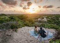 zonsondergang - Inhambane - Mozambique - foto: Sava Dunes