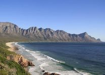 Onderweg naar Pringle Bay - Pringle Bay - Zuid-Afrika - foto: Martijn Visscher