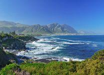 Oceaan en kustlandschap van Hermanus - Hermanus - Zuid-Afrika - foto: Archief