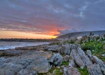 Zonsondergang, Hermanus - Hermanus - Zuid-Afrika - foto: Archief