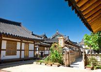 Jeonju Hanok Village gebouw - Jeonju - Zuid-Korea