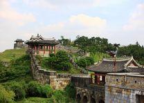 Suwon Hwaseong Fort muur - Suwon - Zuid-Korea - foto: Korea Tourism Board