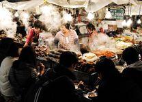 Seoul eetkraam - Seoul - Zuid-Korea