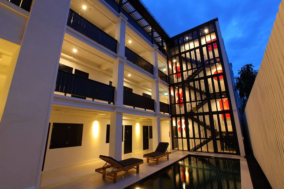 Zwembad 99 The Gallery Hotel in Chiang Mai - Thailand