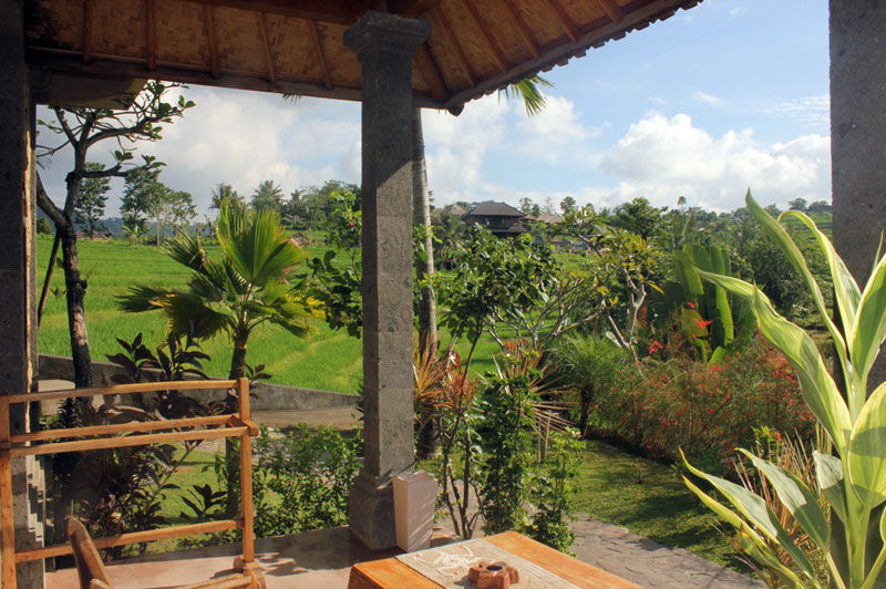 Abian Ayu Villa - uitzicht - Sidemen - Bali -Indonesie - foto: Abian Ayu Villa