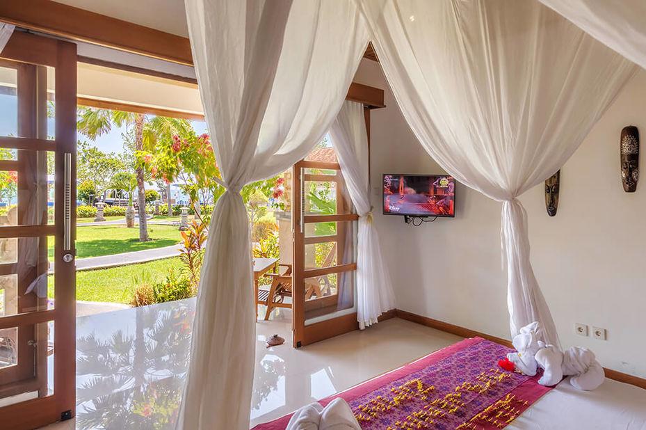 Adi Assri Beach Resort - deluxe room - Pemuteran - Bali - Indonesie - foto: Adi Assri Beach Resort