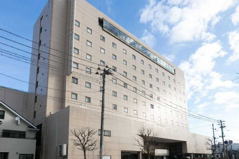 Aizuwakamatsu Washington Hotel - buitenkant - Aizu Wakamatsu - Japan - foto: Aizuwakamatsu Washington Hotel
