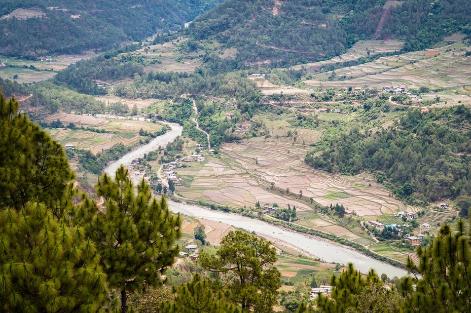 Amankora Gangtey vallei Gangtey Bhutan - foto: Amankora Gangtey