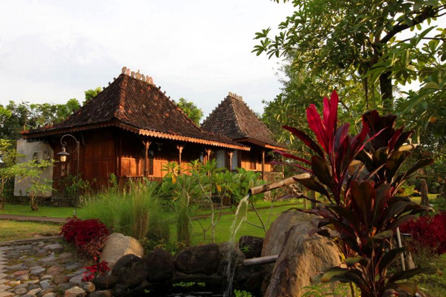 Amata Borobudur Resort - aanzicht -Borobudur - Java - Indonesie - foto: Amata Borobudur Resort