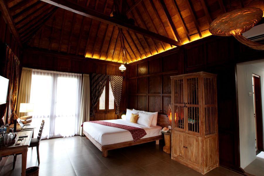 Amata Borobudur Resort - bungalow -Borobudur - Java - Indonesie - foto: Amata Borobudur Resort
