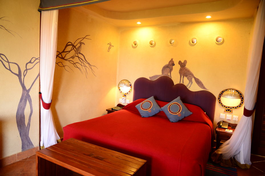 Amboseli Serena Lodge - kamer - Amboseli National Park - Kenia - foto: Serena Hotels & Resorts