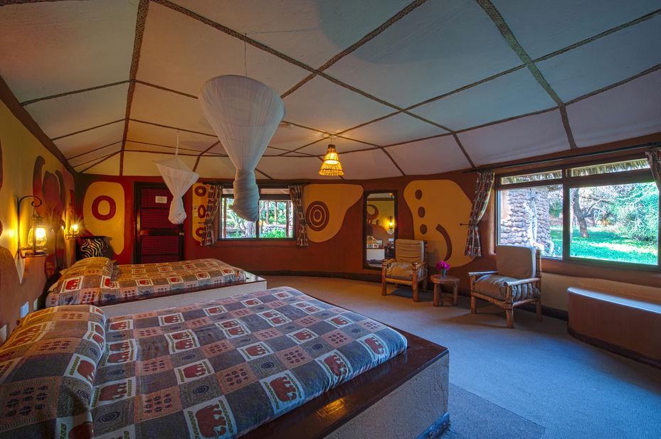 Amboseli Sopa Lodge - kamer - Amboseli National Park - Kenia - foto: Sopa Lodges