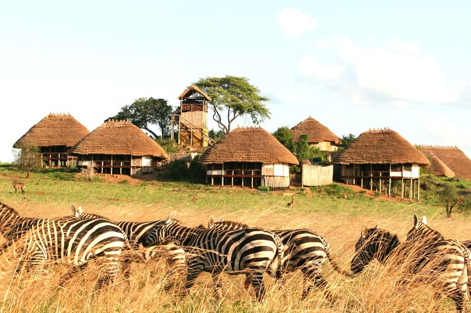 Apoka Lodge - Kidepo Valley - Oeganda - foto: Apoka Lodge