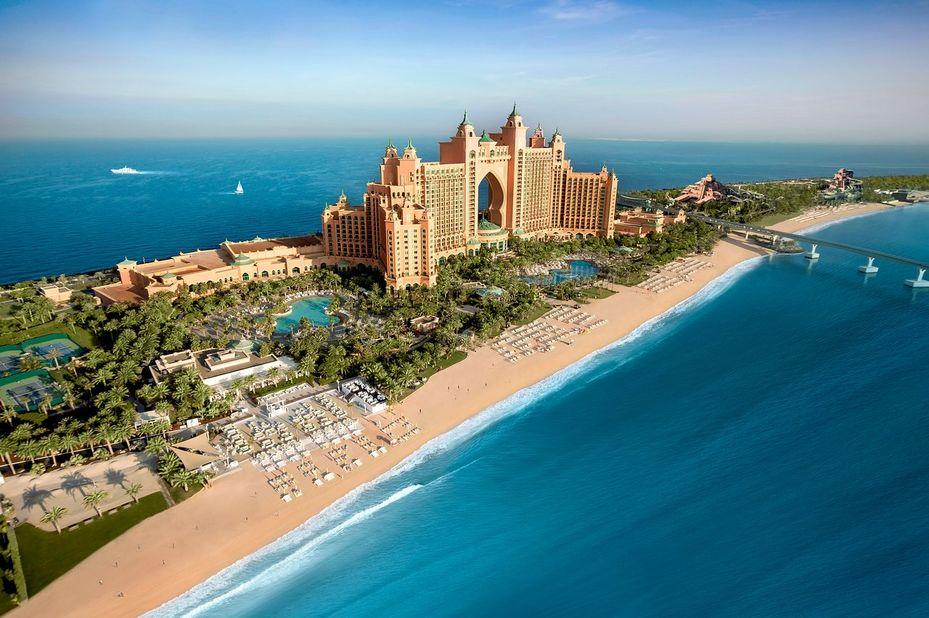 Atlantis The Palm - exterior - Dubai - foto: Atlantis The Palm