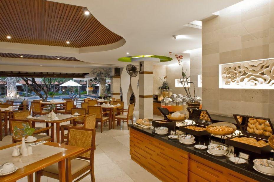 Bali Rani Hotel - restaurant - Kuta - Bali -Indonesie - foto: Bali Rani Hotel