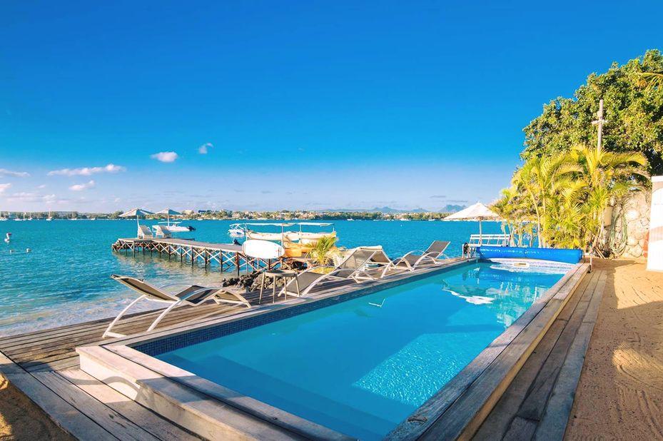 Baystone Boutique Hotel - zwembad - Mauritius - foto: Baystone Boutique Hotel
