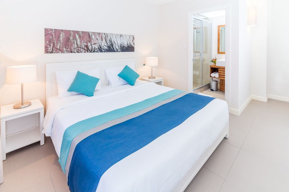 Be Cosy Apart Hotel - slaapkamer - Mauritius - foto: Be Cosy