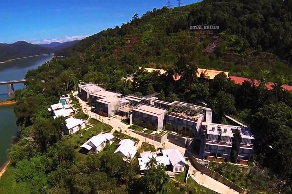 Belum Rainforest Resort -bovenaanzicht - Banding - Maleisie - foto: Belum Rainforest Resort