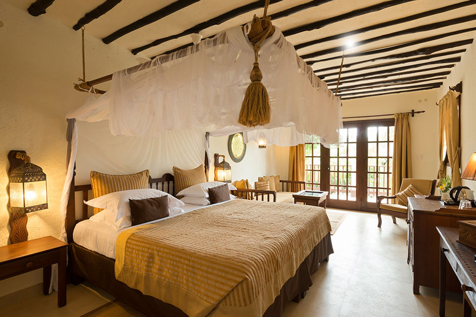Breezes Beach Resort -kamer - Zanzibar - Tanzania - foto: Breezes Beach Club