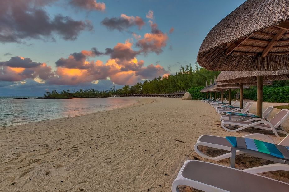 Bubble Lodge - Ile aux Cerfs - strand - Mauritius - foto: Bubble Lodge Ile aux Cerfs