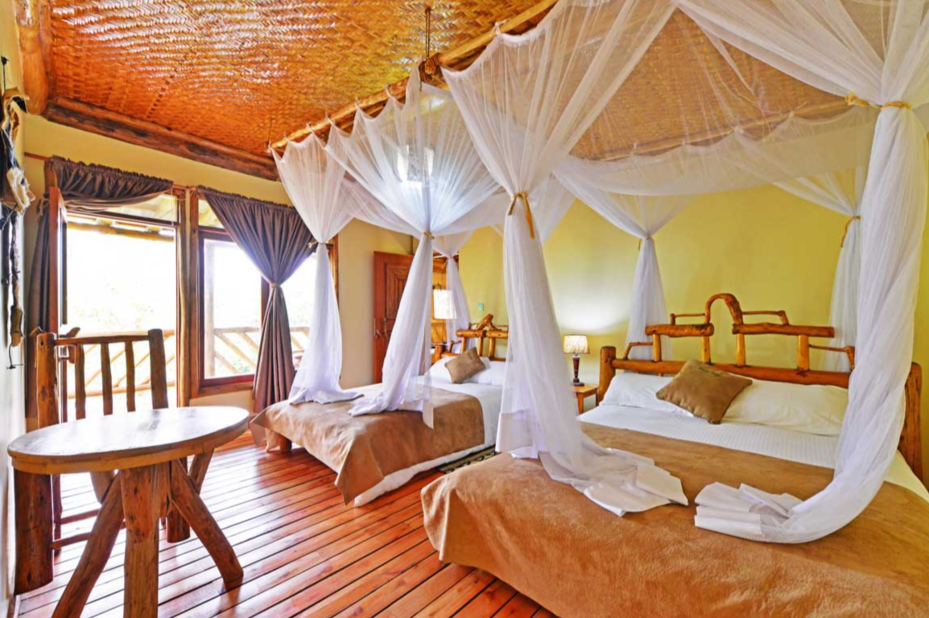 Buhoma Haven Lodge - slaapkamer - Bwindi - Oeganda - foto: Buhoma Haven Lodge